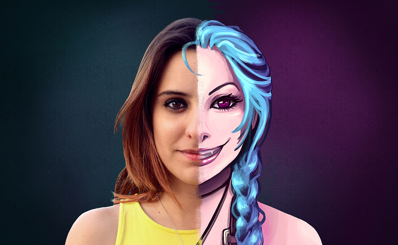 Laura Muñoz x Jinx (League Of Legends)